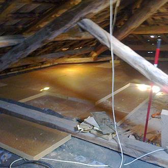 Isolamento termico galleria fotografica - Isolamento termico sottotetto ...