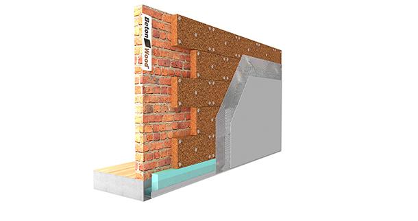 Parete In Cartongesso Voce Capitolato : Isolamento termico parete esterna
